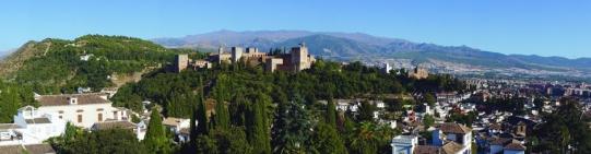 Vista Panorámica de la Alhambra