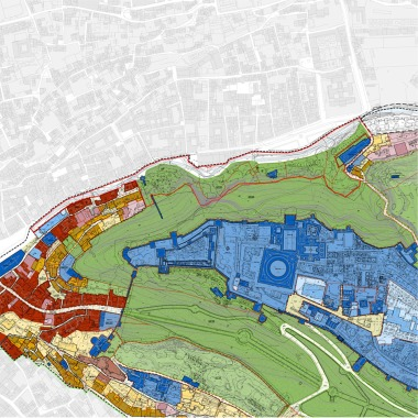 Plano de usos y calificación del suelo