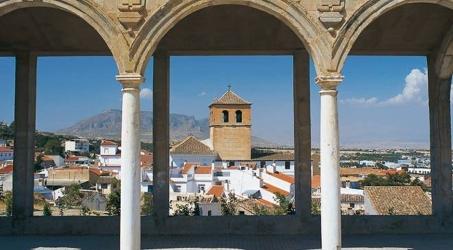 Vista de Baza desde la Alcazaba