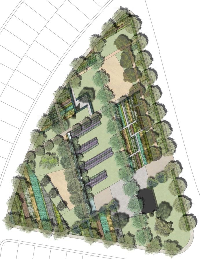 Plano del Parque del Madroño