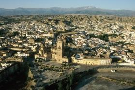 Vista Panorámica del Conjunto Histórico de Guadix