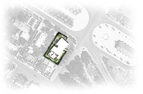 Plan Masse Salle de Fitness