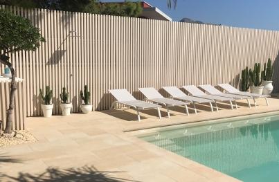 Zona de piscina Casilla del Mar 1